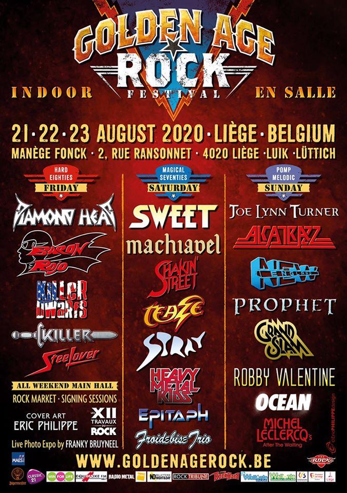 Golden Age Rock Festival – August 2020