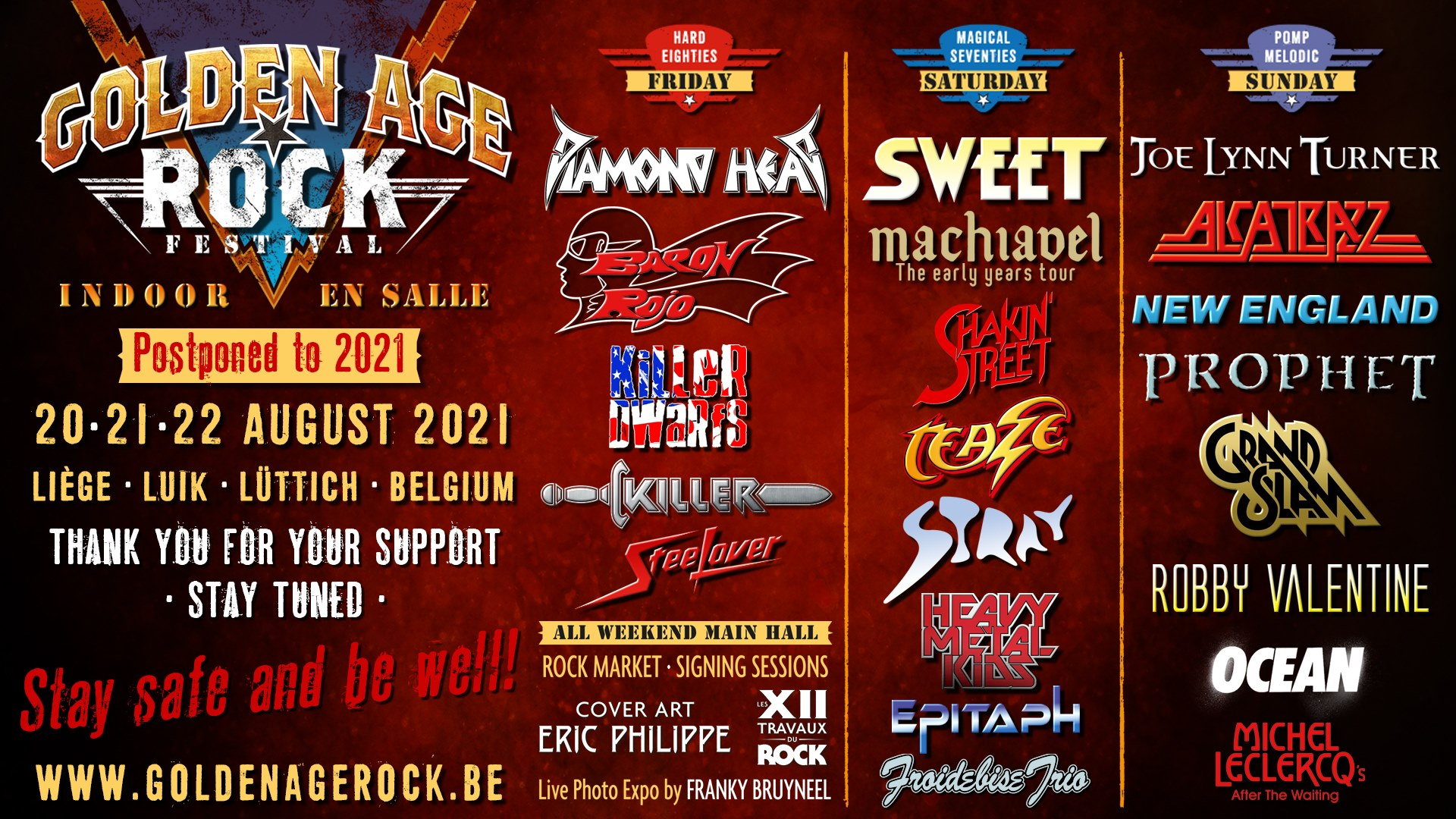 Golden Age Rock Festival – August 2021