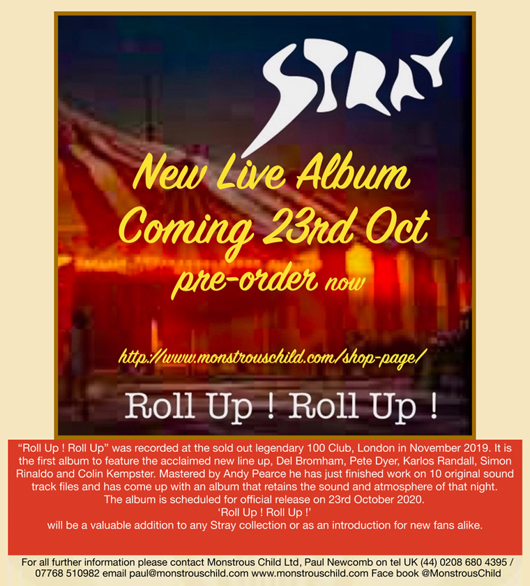 STRAY - ROLL UP! ROLL UP!